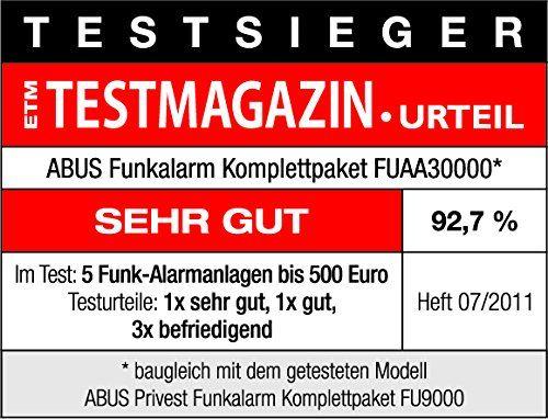 Abus Privest FUAA30000 Funk-Alarmanlage
