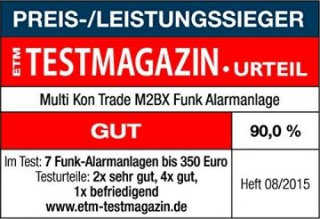 Multi Kon Trade M2BX GSM Funk-Alarmanlage